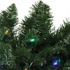 """Northlight 9' x 10"""" Pre-Lit Northern Pine Artificial Christmas Garland - Multi-Color LED Lights - image 2 of 3"""