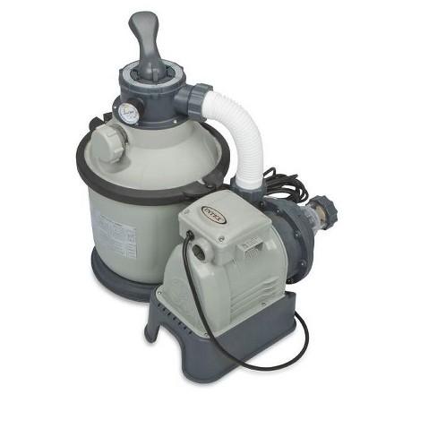 Intex 1200 GPH Krystal Clear Above Ground Pool Sand Filter Pump Set   28643EG - image 1 of 4
