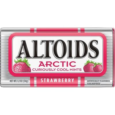 Altoids Arctic Strawberry Mint Candies - 1.2oz