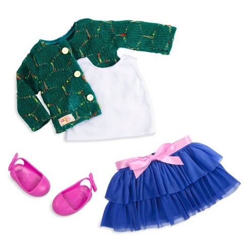 """Our Generation Regular Skirt Outfit for 18"""" Dolls - Bright and Brisk - image 1 of 4"""