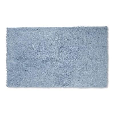 34 x20  Tufted Spa Bath Rug Sky Blue - Fieldcrest®
