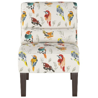 Burke Slipper Chair Multi Bird Print - Threshold™