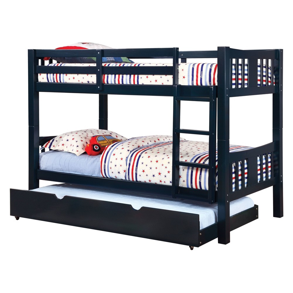 Twin Clare Kids Bunk Bed Blue - Homes: Inside + Out