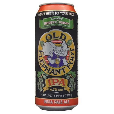 Tampa Bay Old Elephant Foot IPA Beer - 4pk/12 fl oz Cans