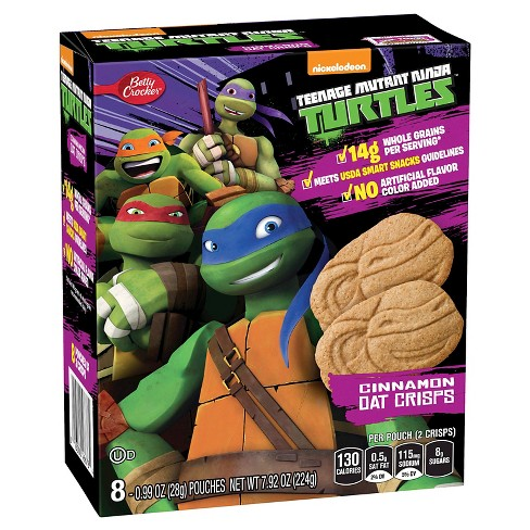 Betty Crocker™ Teenage Mutant Ninja Turtles Cinnamon Oat Crisps 7.92oz - image 1 of 1