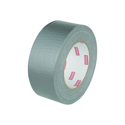 """Staples Acrylic Utility Duct Tape Std Grade Silver 2"""" x 60 yds 1 Rl 468389"""