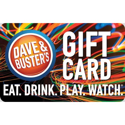 Dave and Busters $25
