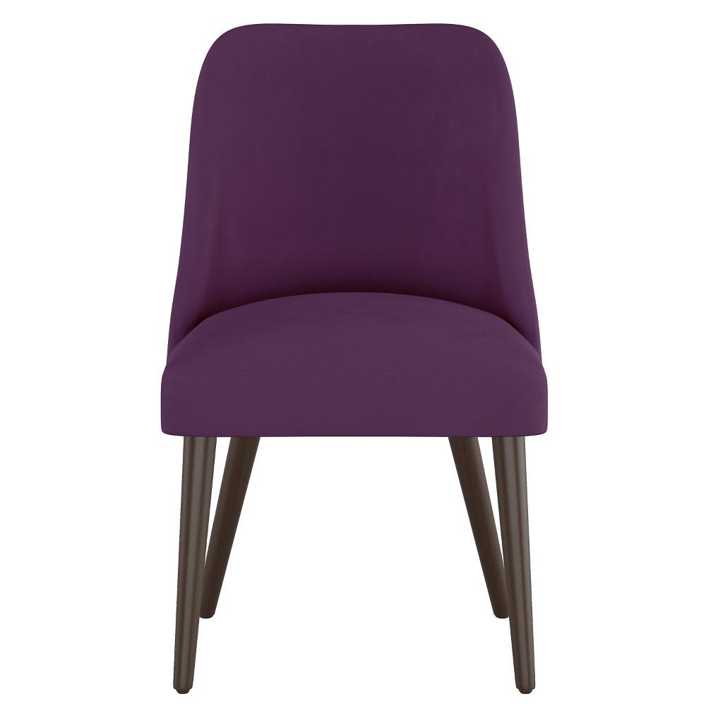 Geller Modern Dining Chair Purple Velvet - Project 62