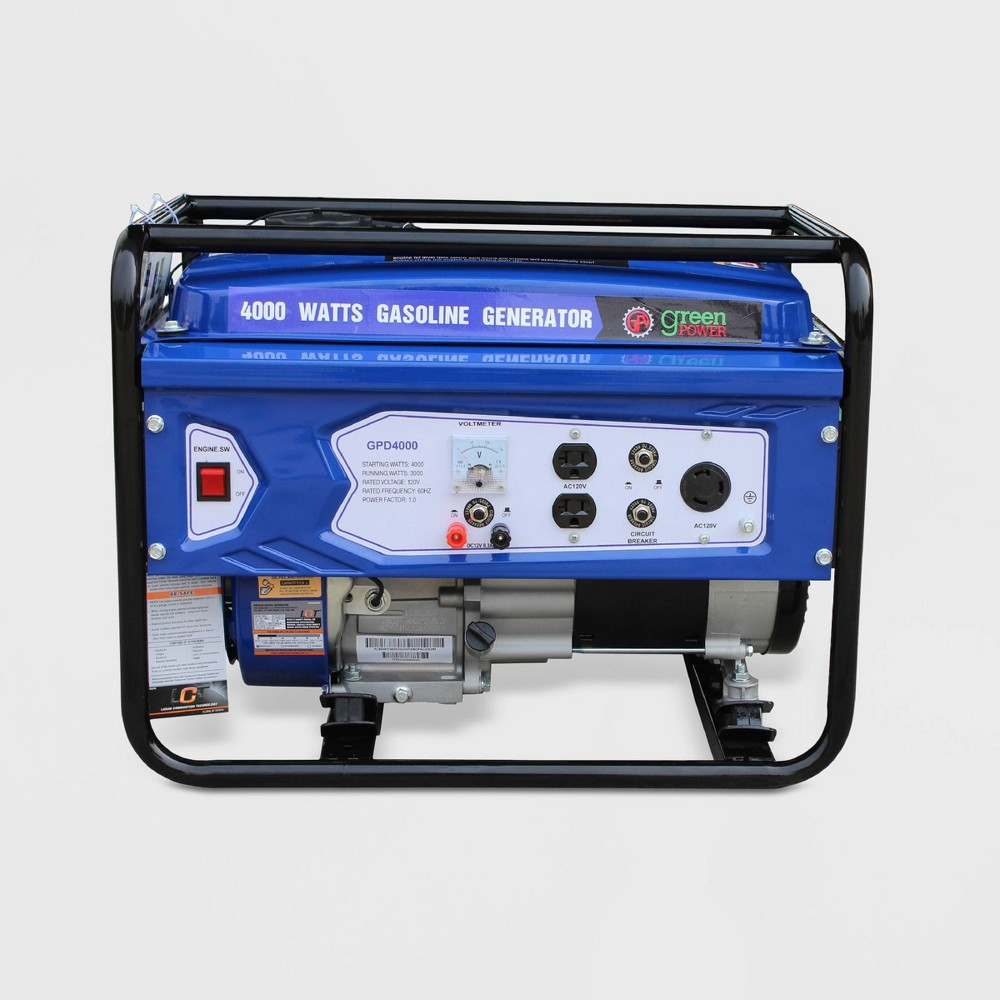 Image of 4000W Generator Blue - Green-Power