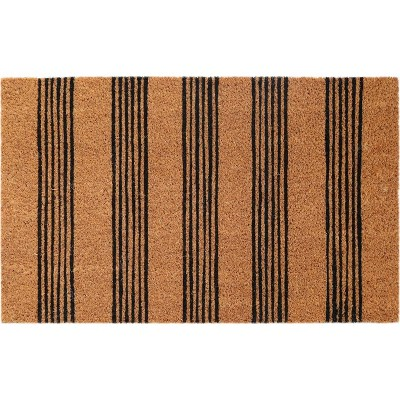 Doormat Black Striped - Room Essentials™
