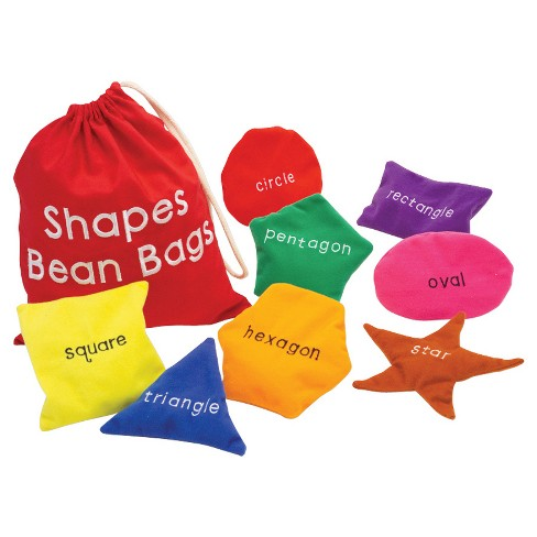 Educational Insights Shapes Beanbags - image 1 of 3