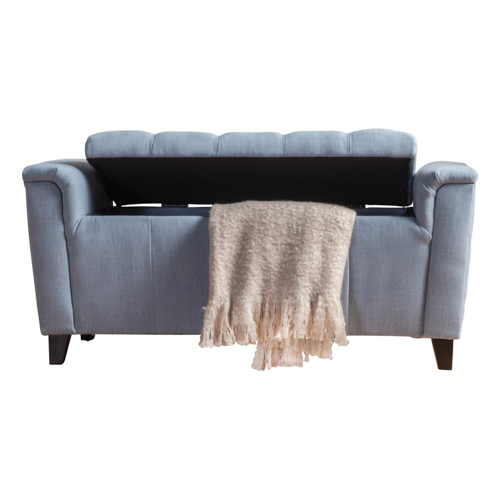 Argus Storage Bench - Blue - Christopher Knight Home