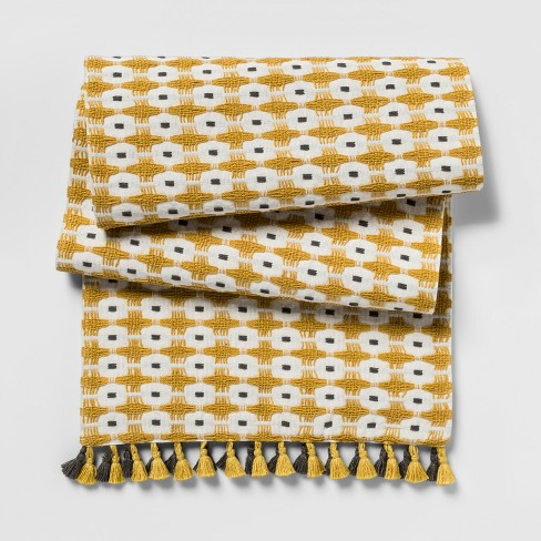 Yellow Chunky Weave Table Runner - Project 62™ - image 1 of 1