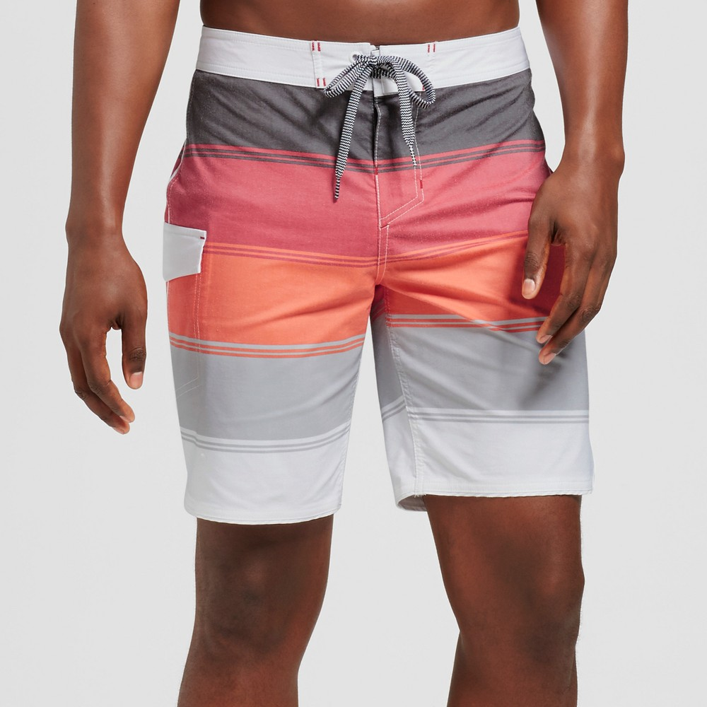 Men's 8.5 Quintant Board Shorts - Goodfellow & Co Red 32
