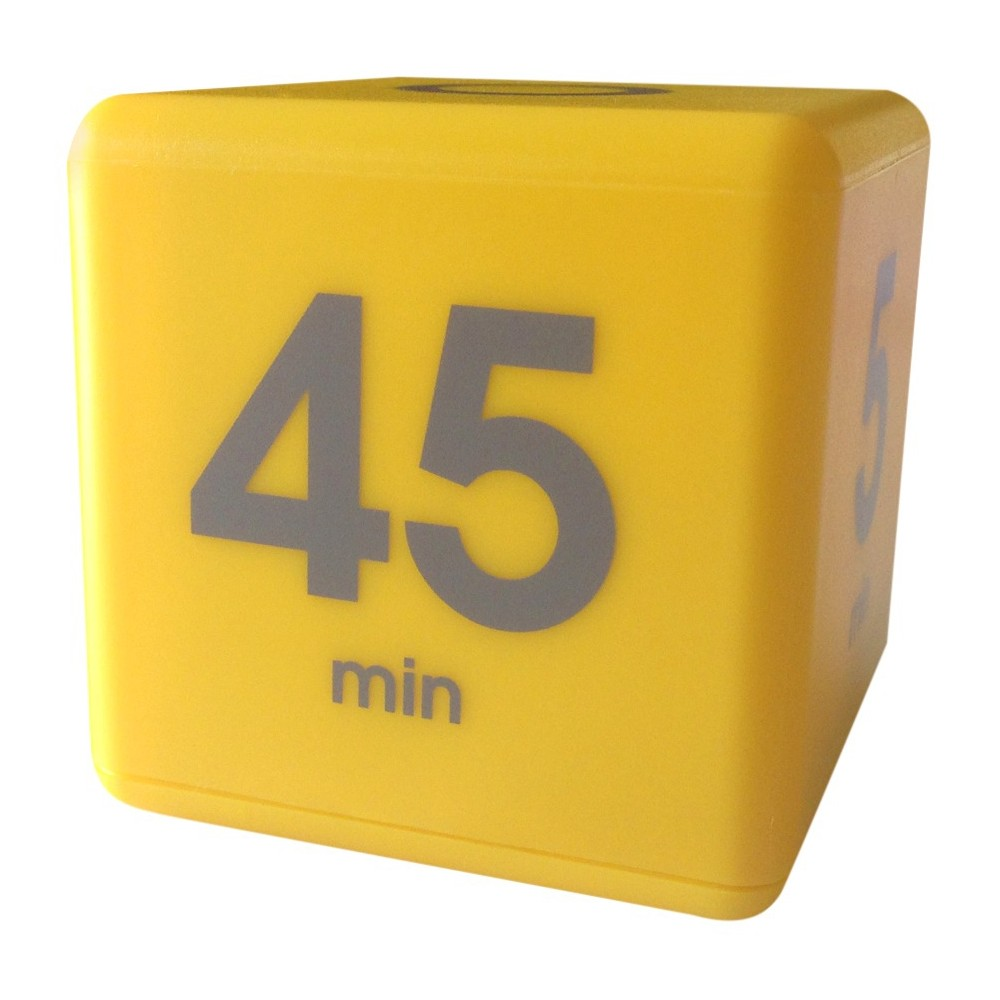 Datexx Time Cube - Yellow