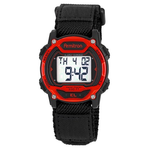 Men's Armitron&#174 Sport Accented Digital Chronograph Watch - Black - image 1 of 1