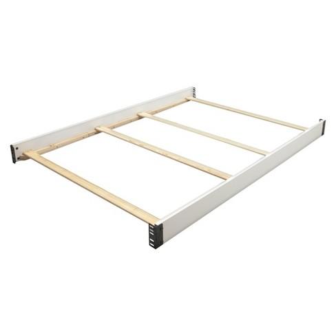 Simmons Kids SlumberTime Full Size Crib Conversion Rails - Madisson - White Ambiance - image 1 of 1