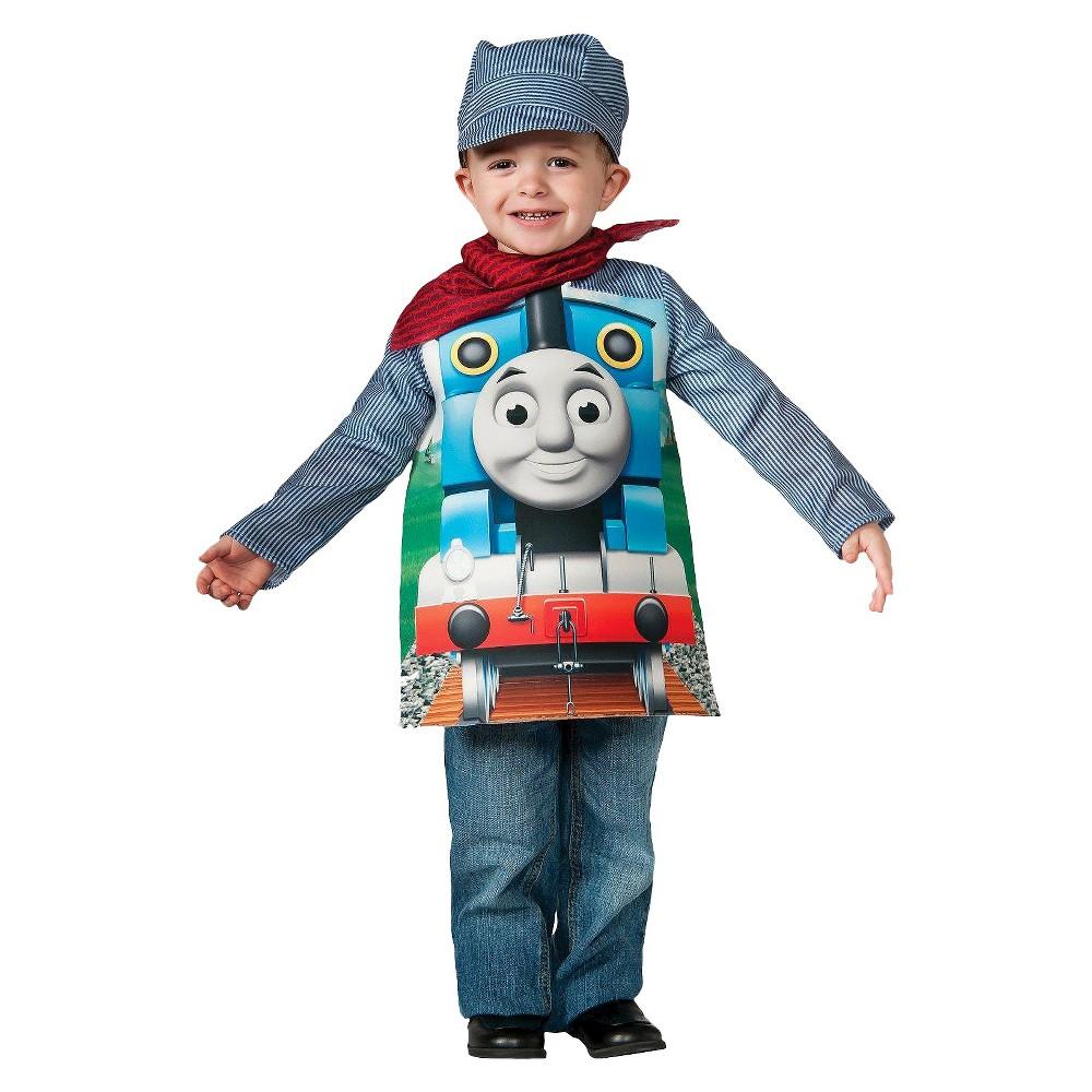 Thomas the Tank Toddler Kids' Costume 2T-4T, Toddler Boy's