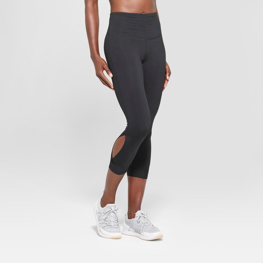 Women's Everyday High-Waisted Capri Leggings 22 - C9 Champion Black XL