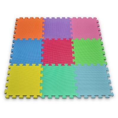 Matney Foam Play Mat Set Puzzle - 9 Tile Pc