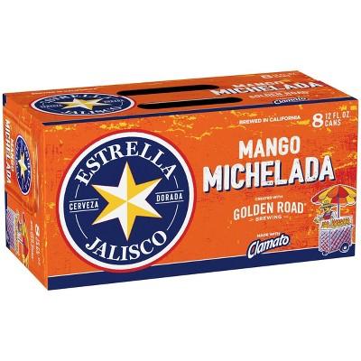 Golden Road Estrella Jalisco Mango Michelada Beer - 8pk/12 fl oz Cans