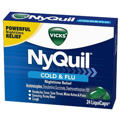 Cold & Flu: NyQuil Cold & Flu LiquiCaps