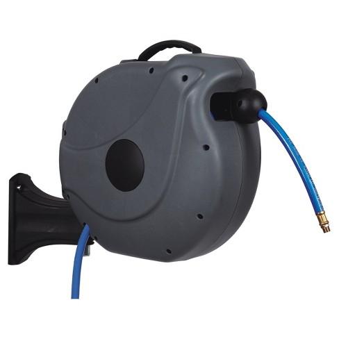 gartenkraft nw 20a 38 65 retractable air hose reel sunneday - Retractable Garden Hose Reel