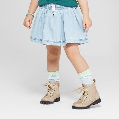 Toddler Girls' Scooters - Cat & Jack™ Light Blue 12M