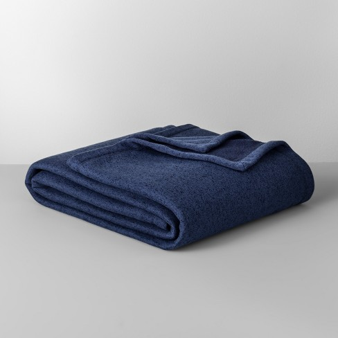 Solid Sweater Fleece Blanket  - Made By Design™ - image 1 of 1