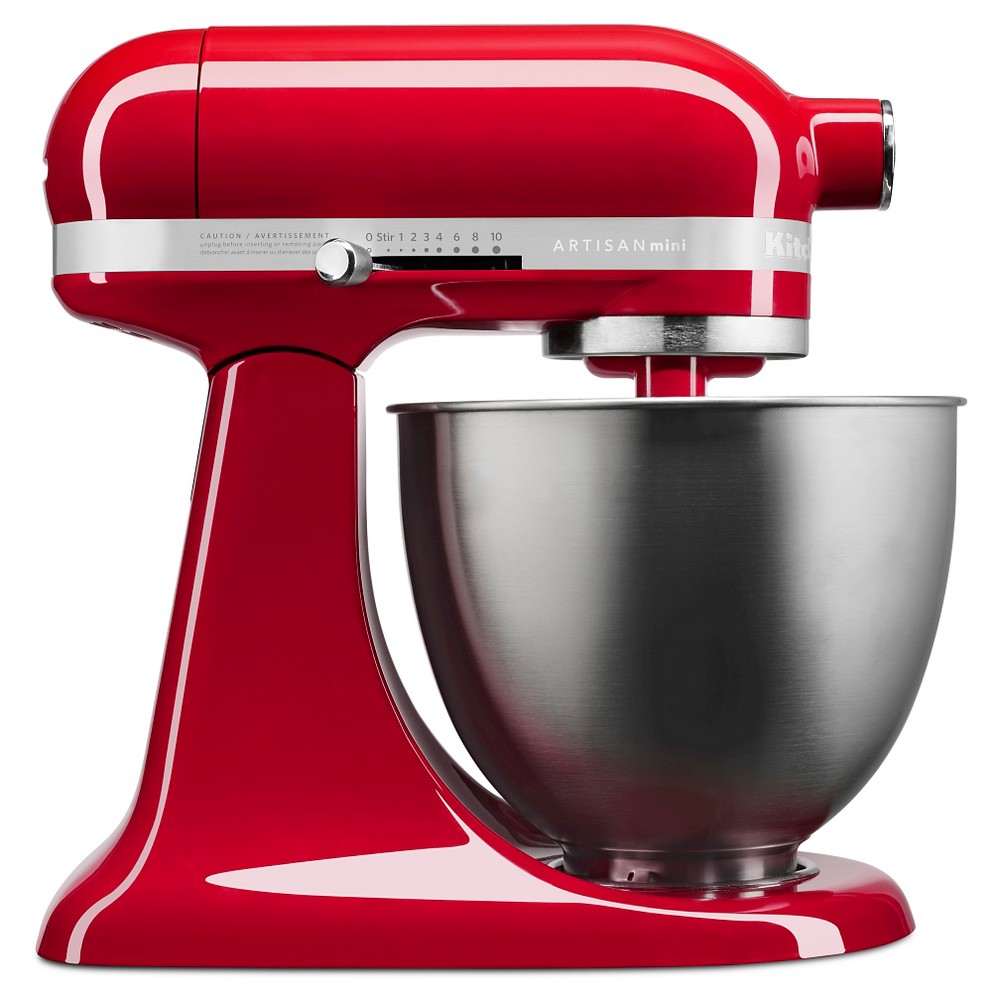 KitchenAid Artisan Mini 3.5qt Tilt-Head Stand Mixer – KSM3311XER, Empire Red 51003063