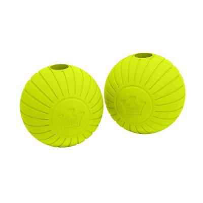 """Chew King Supreme Rubber Balls Dog Toy - 2pk - 2.5"""""""