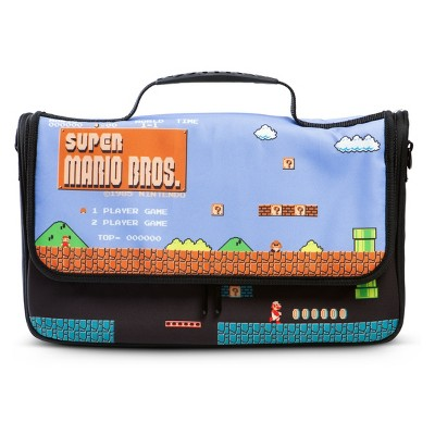 PowerA Messenger Bag for Nintendo Switch - 8-bit Super Mario Bros.