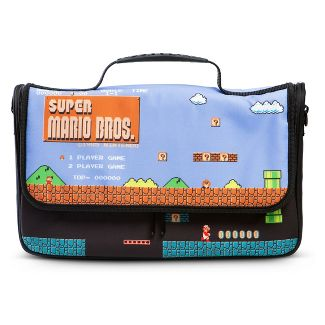 PowerA Messenger Bag for Nintendo Switch - 8-bit Super Mario Bros.