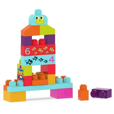 Land of B. - 80 Building Blocks - LocBloc - Mini Builder's Blocks