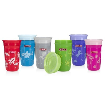 Nuby Printed Spoutless Cup - 10oz