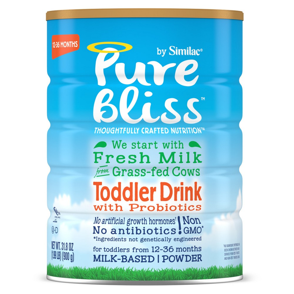 Pure Bliss by Similac Non-Gmo Toddler Formula - 31.8oz