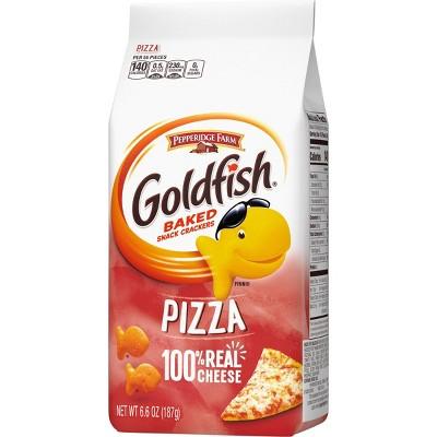 Pepperidge Farm Goldfish Pizza Crackers - 6.6oz Bag