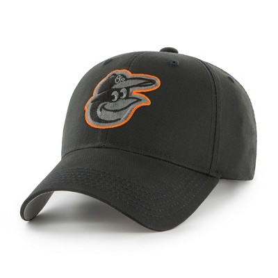 MLB Baltimore Orioles Classic Black Adjustable Cap/Hat by Fan Favorite