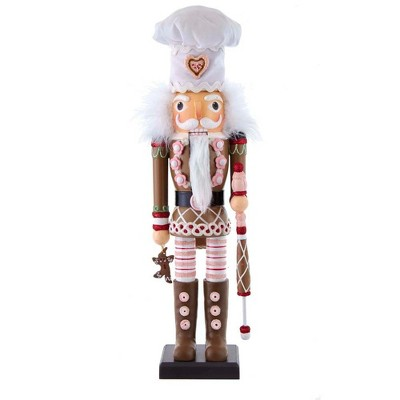"Kurt Adler 17"" Hollywood Gingerbread Nutcracker"