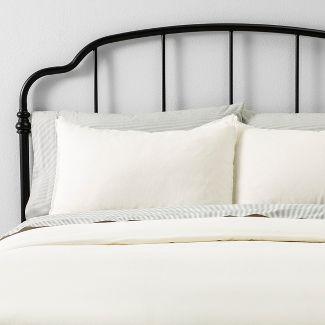 Twin Duvet Cover Set Linen Sour Cream - Hearth & Hand™ with Magnolia