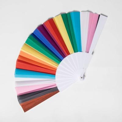 Pride Gender Inclusive Adult Striped Fan