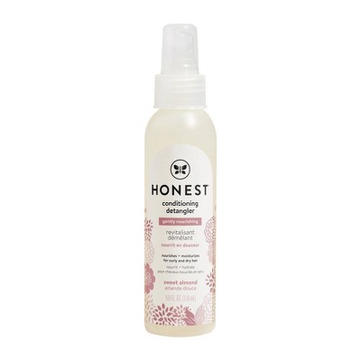 The Honest Company Gently Nourishing Conditioning Detangler - 4fl oz