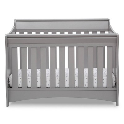 Delta Children Deluxe Bentley S Series 6-in-1 Convertible Crib - Gray