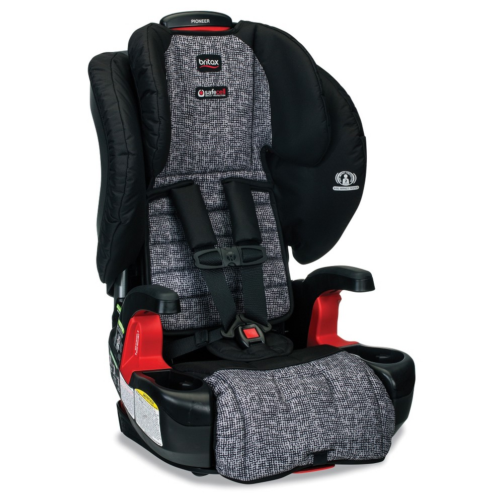 Image of Britax Pioneer Harness Booster - Gray