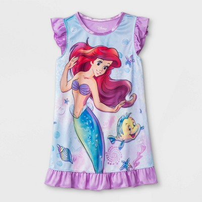 Toddler Girls' Ariel Nightgown - Purple