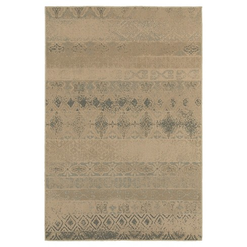 Buff Beige Oxford Diamond Rug - image 1 of 1