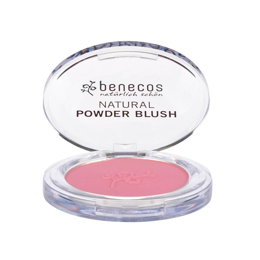 Image of benecos Natural Powder Blush Deep Pink - 0.19oz