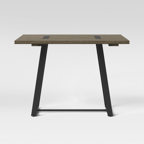 Brimfield Metal Base Extendable Dining Table Brown - Threshold™ - image 1 of 4