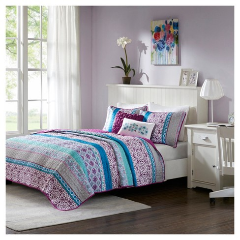 Callie Printed Quilt Set - image 1 of 7