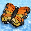 Swimline Giant Monarch Butterfly Inflatable Ride On Pool Float Lounger   90455 - image 3 of 4